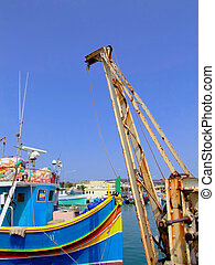 Fishing Trawler - Trawler series - details of industrial...