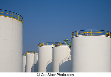 Fuel storage 2 - Oil storage in the Port of Rotterdam,...