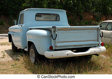 Classic truck - photographed old classic truck for sale in...
