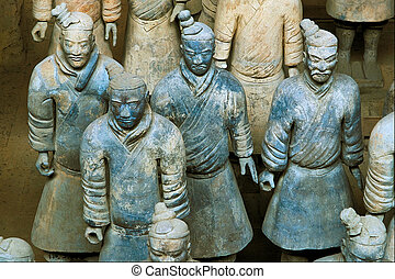 Warriors - Emperor Qin\\\'s Terra-cotta Warriors and Horses...