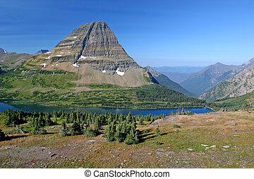 Mountain Lake - Hidden Lake Trail, Logan Pass, Glacier...