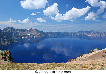 Crater Lake National Park, Summer, Oregon, United States