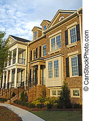 Townhouses - New luxury townhouses ready for sale