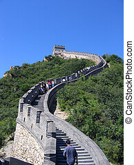 The Great Wall - Landmark architecture The Great wall in...
