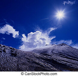 Sunshine - The view in Tibet