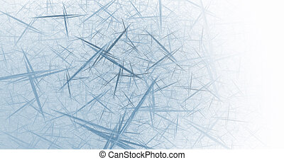 Business Graphic - Blue Lattice