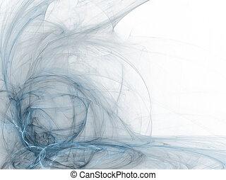 Business Graphic - Blue Corner