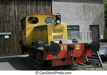 small shunter train