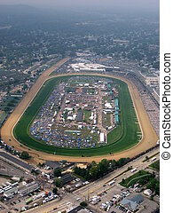 KY Derby 4 - aerial view of trach