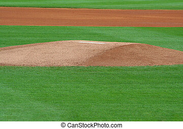Pitchers Mound - an image of pitchers mound