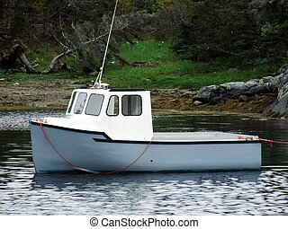 small lobster boat - mini cape islander lobster fishing boat...