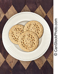 Cookies on Diamond Placemat