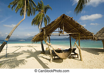 Beach Hut - Beach resort in Palawan, Philippines