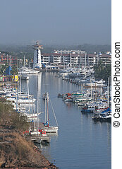 Puerta Vallarta - The marina at the port of Puerta Vallarta
