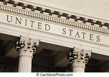Customs House - United States Custom House in Charleston...