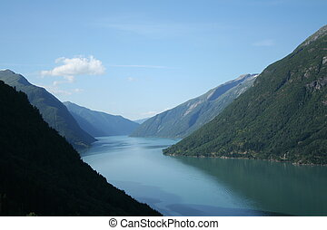 norwegian fjords - beautiful lanscapes from norwegian fjords...
