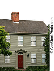 Classic New England House - A traditional old New England...