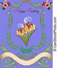 Greeting Card-Birthday - Greeting Card, just write the name...
