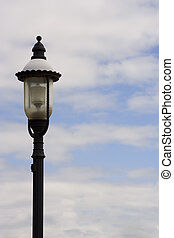 lamp light - Decorative Lantern against a background of sky...
