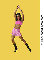 Glamour Modeling - Model Release #278 African American woman...