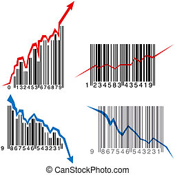 Barcode graphs - Business growth, success and failure...