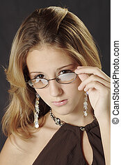 Abigail - Model Release 292  Portrait of a young teenager