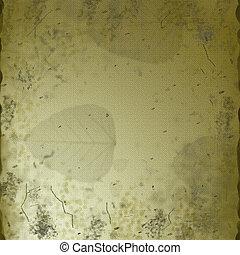 Aged Linen Parchment Grunge