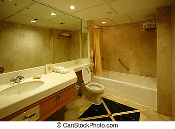 Dream Bathroom - A spacious and nicely decorated Dream bath