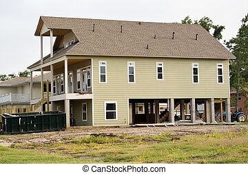 Hurricane Katrina - Flood Elevation - house in Lakeview area...