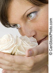 the nose and roses