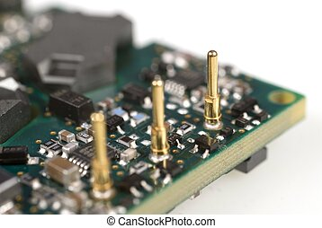 Electronic Module - Close up of a power module with limited...