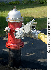 Fire hydrant - Close up of a fire hydrant