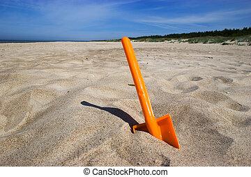 海灘, 黑桃