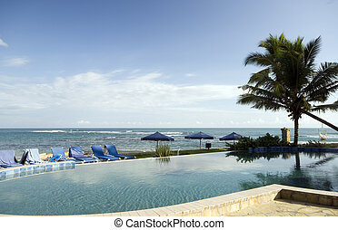 pool by the sea - infinity swimming pool by the sea hotel...
