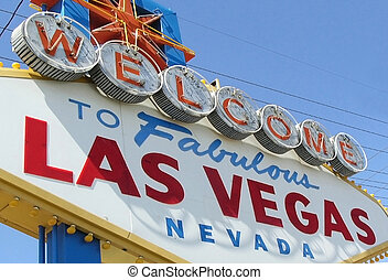 las vegas -  las vegas welcome sign