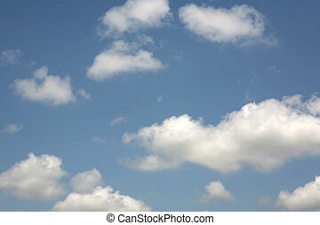 Blue Sky & Clouds - Blue sky and cloud background. Great...