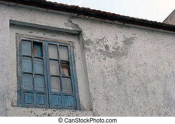 An old window of a House