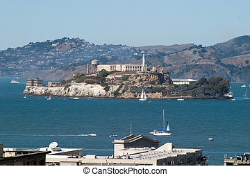 Alcatraz Island offers a close-up look at the site of the...
