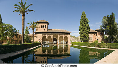 Alhambra Pool - more from spain in my portfolio