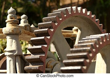 Gears of TIme - Gears of old Sugar Cane processing...