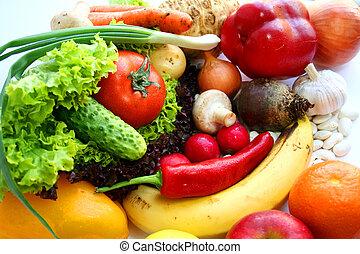 素食主義者, 食物