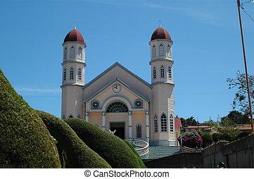 ZARCEROS CHURCH IN COSTA RICA