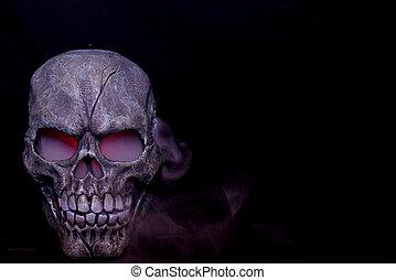 el cocer al vapor, cráneo