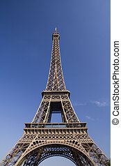 Eiffel Tower 2 - a perspective of the famouse Eiffer Tower