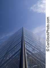 Bulding to sucess - a perspective of a building structure...