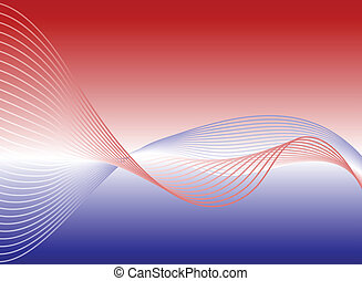Big Wave - Large wave over gradient background
