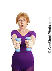Senior Workout - Freeweights Exhale - A healthy, fit seventy...