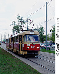 Tram 1 - An old tram on its way