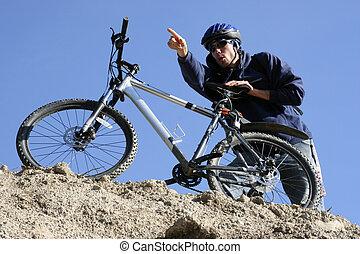 Mountain Biker Smiles