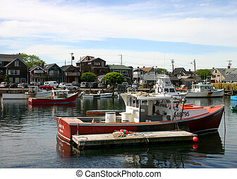 Red Lobster Boat - Red Lobster fishing boat in scenic new...